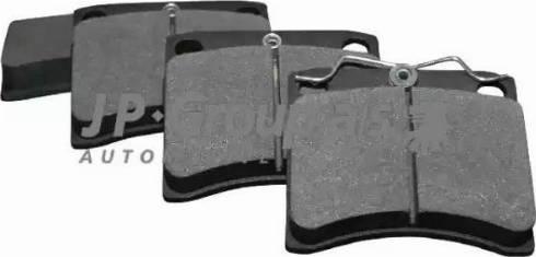 JP Group 1163606610 - Комплект тормозных колодок, дисковый тормоз autodnr.net