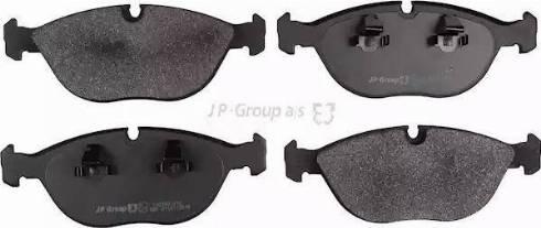 JP Group 1163607410 - Тормозные колодки, дисковые car-mod.com