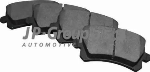 JP Group 1163706610 - Тормозные колодки, дисковые car-mod.com