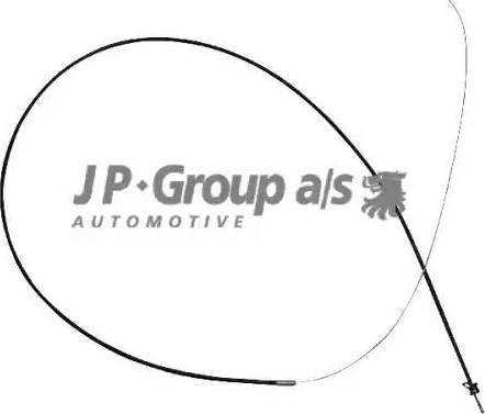 JP Group 1170700900 - Тросик замка капота car-mod.com