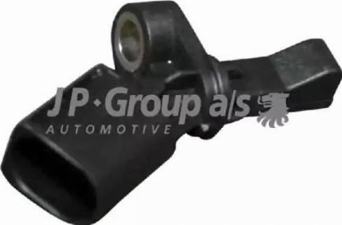JP Group 1197101580 - Датчик ABS, частота вращения колеса autodnr.net
