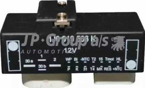 JP Group 1199150100 - Блок управления, эл. вентилятор (охлаждение двигателя) avtokuzovplus.com.ua