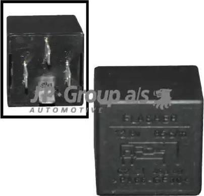 JP Group 1199208400 - Реле аварийной световой сигнализация autodnr.net