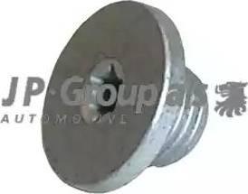 JP Group 1213800200 - Резьбовая пробка, масляный поддон car-mod.com