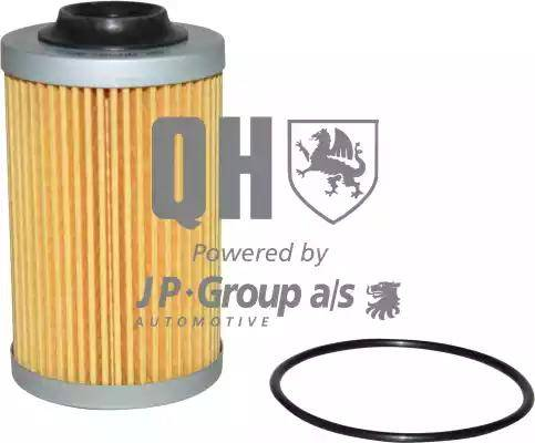 JP Group 1218504009 - Масляний фільтр autocars.com.ua