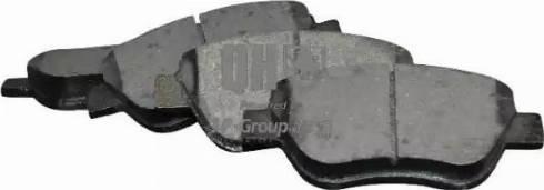 JP Group 1263603219 - Тормозные колодки, дисковые car-mod.com