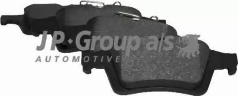 JP Group 1263700610 - Тормозные колодки, дисковые car-mod.com