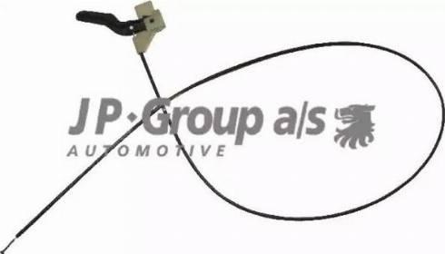 JP Group 1270700100 - Тросик замка капота autodnr.net