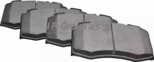 JP Group 1363602310 - Тормозные колодки, дисковые car-mod.com