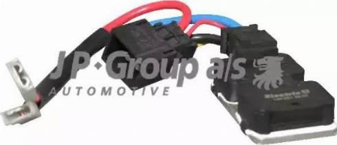JP Group 1399150100 - Блок управления, эл. вентилятор (охлаждение двигателя) avtokuzovplus.com.ua