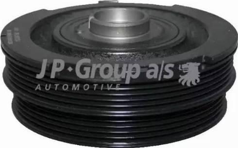 JP Group 1418300300 - Ремінний шків, колінчастий вал autocars.com.ua