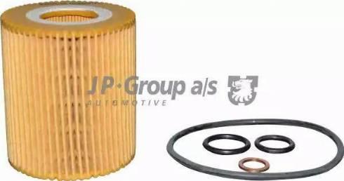 JP Group 1418500500 - Масляний фільтр autocars.com.ua