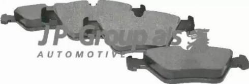 JP Group 1463600710 - Тормозные колодки, дисковые car-mod.com