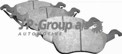 JP Group 1563600910 - Тормозные колодки, дисковые car-mod.com