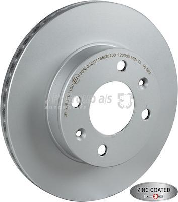 JP Group 3563101100 - Тормозной диск autodnr.net