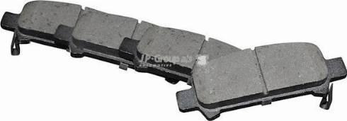JP Group 4663700110 - Тормозные колодки, дисковые car-mod.com