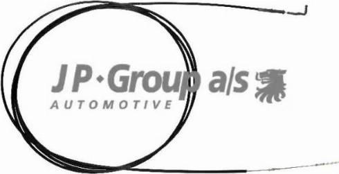 JP Group 8170501173 - Тросик заслонки отопителя avtokuzovplus.com.ua