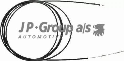 JP Group 8170501183 - Тросик заслонки отопителя avtokuzovplus.com.ua