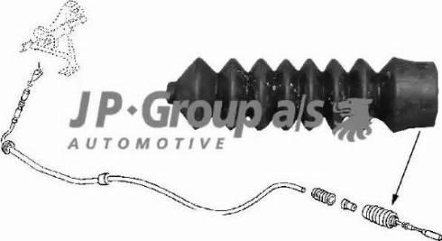 JP Group 8170550300 - Тросик заслонки отопителя avtokuzovplus.com.ua
