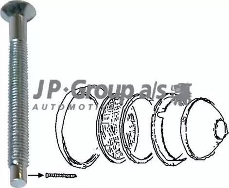 JP Group 8195151606 - Рамка, основная фара avtokuzovplus.com.ua