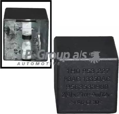 JP Group 8199200400 - Реле аварийной световой сигнализация car-mod.com