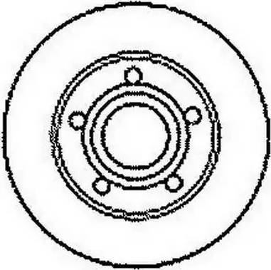 Jurid 561247J - Тормозной диск autodnr.net