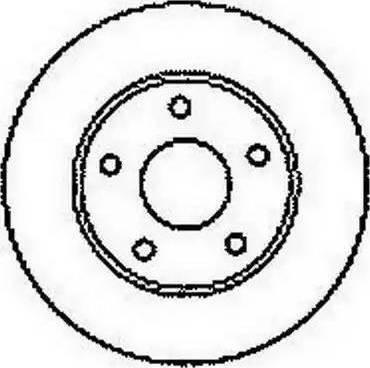 A.B.S. 16099 - Тормозной диск autodnr.net