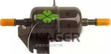 Kager 11-0256 - Паливний фільтр autocars.com.ua