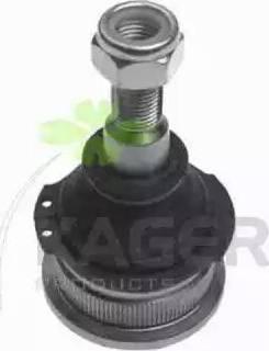 Kager 880081 - Шаровая опора, несущий / направляющий шарнир car-mod.com
