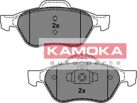 Kamoka JQ101162 - Тормозные колодки, дисковые car-mod.com