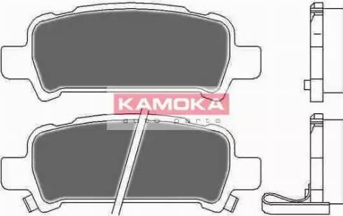 Kamoka JQ1012666 - Тормозные колодки, дисковые car-mod.com