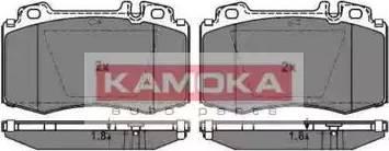 Kamoka JQ1012852 - Тормозные колодки, дисковые car-mod.com