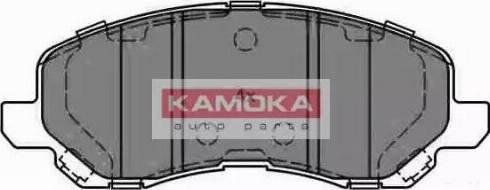 Kamoka JQ1013242 - Тормозные колодки, дисковые car-mod.com
