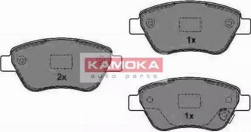 Kamoka JQ1013840 - Тормозные колодки, дисковые car-mod.com