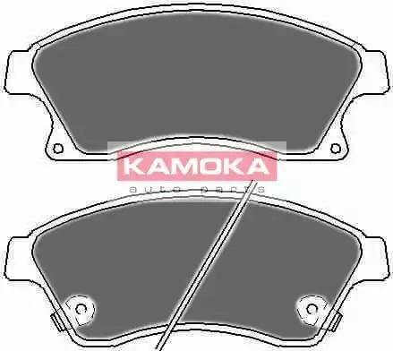Kamoka JQ1018524 - Тормозные колодки, дисковые car-mod.com