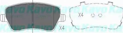 Kavo Parts KBP-6559 - Комплект тормозных колодок, дисковый тормоз autodnr.net