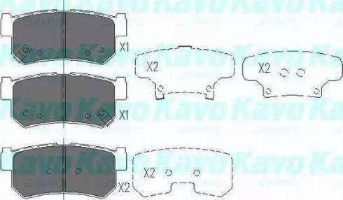 Remsa 746 62 - Тормозные колодки, дисковые car-mod.com