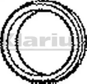 Klarius 410003 - Уплотнительное кольцо, труба выхлопного газа car-mod.com