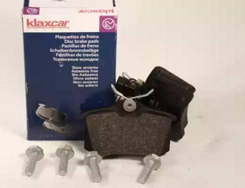 Klaxcar France 24863z - Тормозные колодки, дисковые car-mod.com
