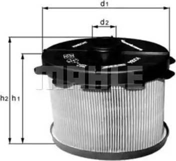 Mann-Filter PU 1021 x - Паливний фільтр autocars.com.ua