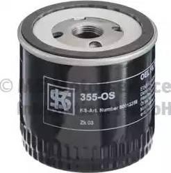 Kolbenschmidt 50013355 - Масляний фільтр autocars.com.ua