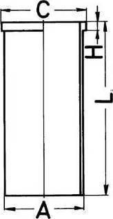 Kolbenschmidt 89434190 - Гильза цилиндра autodnr.net