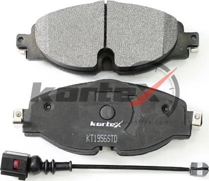 Kortex KT1956STD - Тормозные колодки, дисковые car-mod.com