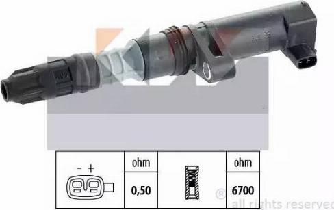 KW 470 432 - Катушка зажигания avtokuzovplus.com.ua