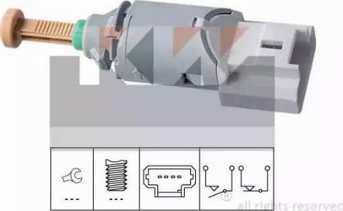 KW 510227 - Выключатель, привод сцепления (Tempomat) autodnr.net