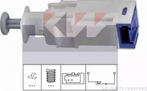 KW 510 241 - Выключатель, привод сцепления (управление двигателем) car-mod.com