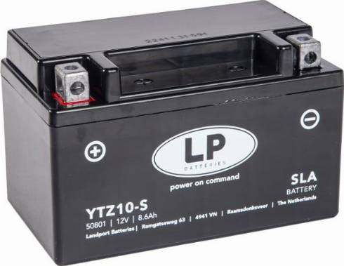 LandportBV MB YTZ10-S - Стартерная аккумуляторная батарея car-mod.com
