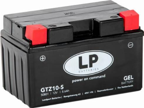 LandportBV MG GTZ10-S - Стартерная аккумуляторная батарея car-mod.com