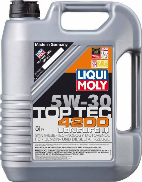 Liqui Moly 7661 - Моторное масло autodnr.net