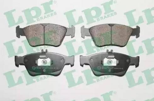 LPR 05P409 - Тормозные колодки, дисковые car-mod.com